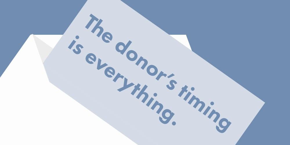 Jon-donor-timing