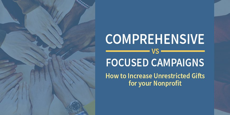 Comprehensive Campaigns vs. Capital Campaigns