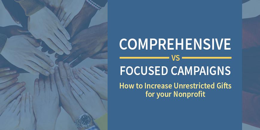 Comprehensive Campaigns vs. Capital Campaigns