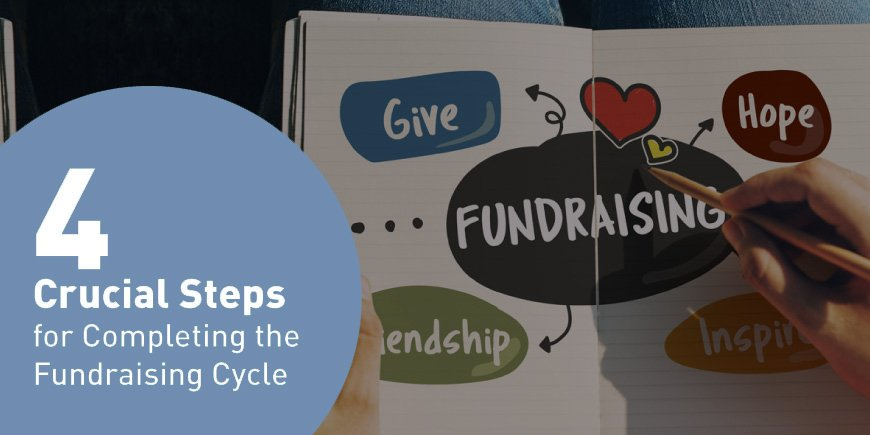 Four Crucial Steps for Completing the Fundraising Cycle