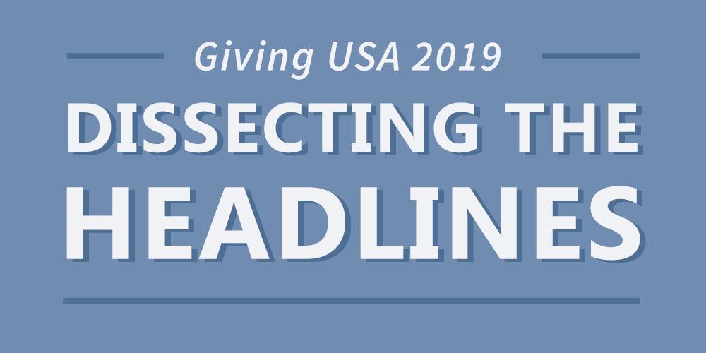 Giving USA: Dissecting the Headlines