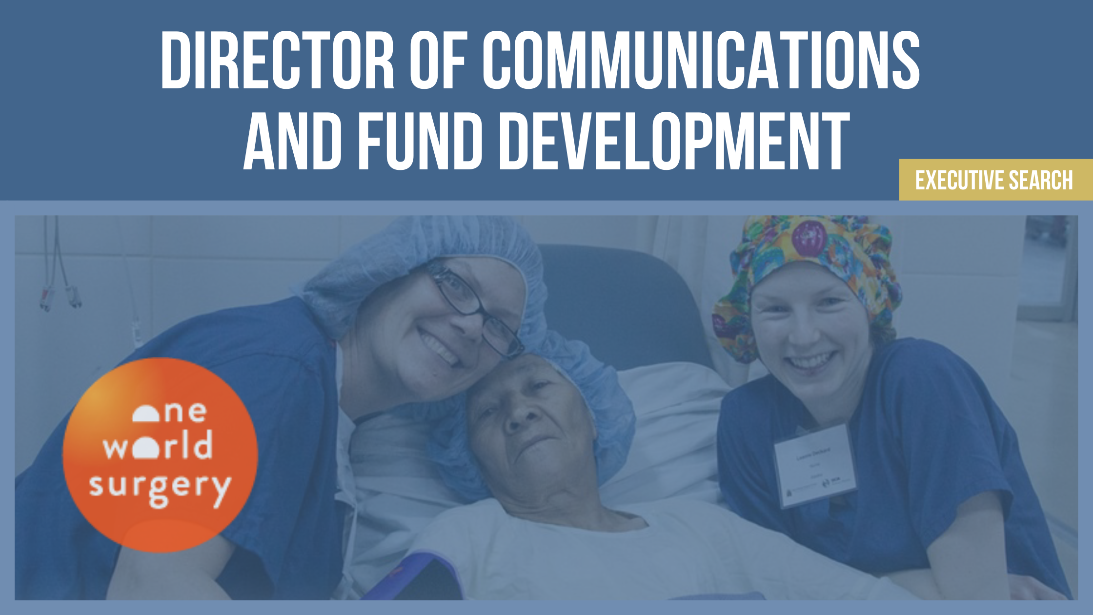 Executive Search: Director of Communications and Fund Development