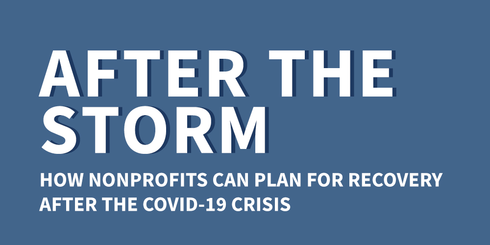How Nonprofits can Plan for Recovery after COVID-19